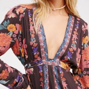 Floral Free People Tunic